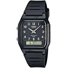 Casio Uhr AW-48H-1BVEF Analog Digital Herren Damen Schwarz Black Watch NEU & OVP