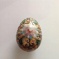 A vintage closonie egg