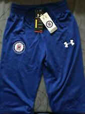 UNDER ARMOUR CRUZ AZUL SOCCER TEAM 3/4 L.TRAINING SHORTS XL L M S MEN NWT $44.99