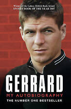 Gerrard: My Autobiography, By Steven Gerrard,in Used but Acceptable condition