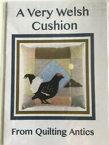Patchwork Pattern, A Very Welsh Cushion. Cushion Pattern Quilting Antics