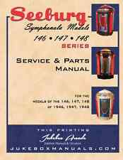 Seeburg Symphonola Models 146, 147 148 Service and Parts Manual / Jukebox Arcade