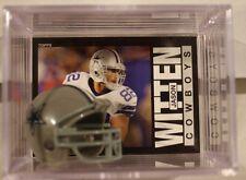 Jason Witten Dallas Cowboys Mini Helmet Card Display Case Collectible TE Auto