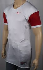 Nike White Red Pro Combat Speed Football Jersey NWT $75