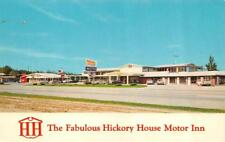 POPLAR BLUFF, MO Missouri    HICKORY HOUSE MOTOR INN    Roadside Chrome Postcard