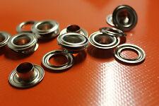 Rundösen 12 mm Messing Vernickelt Made in Germany 10 Stk