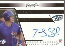 TRAVIS SNIDER 2006 Tristar Prospects Plus Farm Hands 45 Autograph