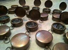 Lot Of 25 Brass Pocket Compass 35 mm Antique Marine Decorative handmade style