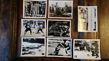 8X VINTAGE PHOTOGRAPHS CHINESE EXECUTIONS - BOXER REBELLION / SHANGHAI 1929 ETC