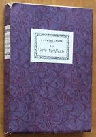 1920 ✤ Prof. A. Lacassagne ✤ La Verte Vieillesse ✤ Exempl. numéroté