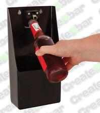 Wall Mounted Swing Bottle Opener With Cap Catcher - Bar Pub Beer Opener