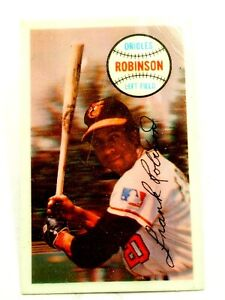 1970 Kellogg's  MLB Frank Robinson 3-D HOF Superstar No 15