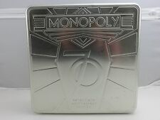MONOPOLY Seventieth 70th Anniversry Edition Collector's Tin 2005 Parker Brothers