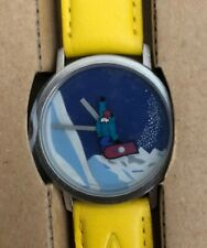 AKTEO WRIST WATCH,  SNOWBOARD SPO27S NEW WITH TAGS IN BOX $199
