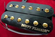 Genuine Dirty Fingers Humbucker Guitar Pickup For Archtop LP,335, Etc