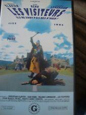 VIDEO VHS LES VISITEURS