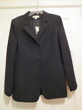 Casual Corner ladies size 8 black blazer NWT lined womens jacket  coat New