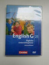 English G 21 - Digitaler Unterrichtsplaner - Lehrersoftware