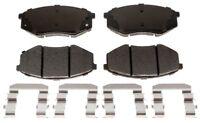 Disc Brake Pad Set-Ceramic Disc Brake Pad Front ACDelco Advantage 14D1447CH