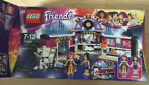 Lego Friends Pop Star Dressing Room 41104 - 100% Complete With Manual
