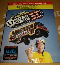 2 3D Blu-Rays - Nitro Circus the movie, The Universe - Pastrana, History Channel