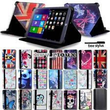 """Leather Stand Folio Cover Case For Various 8"""" 9"""" 10"""" Chuwi Tablet + Stylus"""
