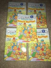 LOT OF 5 The Berenstain Bears' FAMILY REUNION Paperback Guided Reading Level K