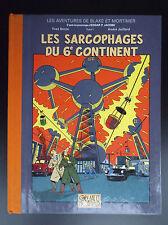 RARE Tirage de Presse Les sarcophages du 6e continent 2003  Blake et Mortimer