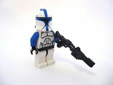 Lego Custom CLONE LIEUTENANT Phase 1 MINIFIGURE Custom Helmet + Brickarms DC-15