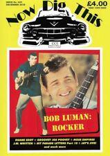 Now Dig This Magazine #429 Bob Luman, Duane Eddy, 1950s rockabilly rock 'n' roll