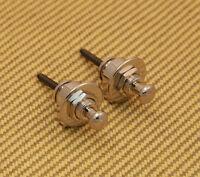 GP800N Grover Quick Relese Nickel Strap Locks Straplocks For Guitar/Bass