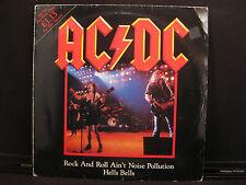 "AC/DC Rock And Roll Ain't Noise Pollution Atlantic K 11630 (T) Vinyl 12"" 45 RPM"