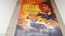 chuck norris DELTA FORCE 2  !  affiche cinema karate kung-fu