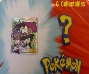 Pokemon Card Jessie & James Full Art Hidden Fates 68/68 Mint