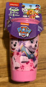 Playtex Sipsters Stage 2 Paw Patrol Girls Spoutless Sippy Cup, 10 Oz -A19