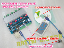 4 Axis TB6560 Nema23 Stepper Motor Controller Driver USBCNC Board for CNC Router
