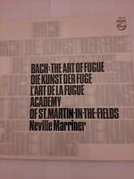 Bach. The Art Of Fugue Vinyl Double Album LP Boxset FREE DELIVERY
