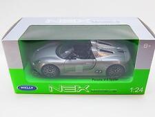 30094 Welly 21535 Porsche 918 Spyder silber Die-Cast Modellauto 1:24 NEU OVP