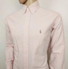 "Ralph Lauren Mens Shirt Yarnmouth Pink Oxford Size 15.5 - 34 Chest 44"" RRP£110"