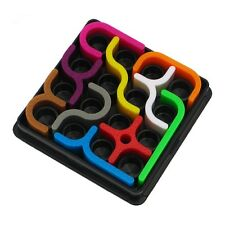 Puzzle Crazy Curves Maze Game Educational Brain Teasers Kids Toys Gift EL