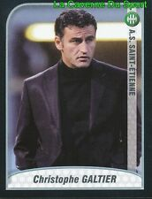GALTIER FRANCE AS.SAINT-ETIENNE Liáoníng Hóngyùn UPDATE STICKER FOOT 2010 PANINI