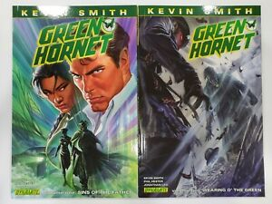Green Hornet - SINS OF THE FATHER 1 & WEARING O' THE GREEN 2 - Kevin Smith TPB