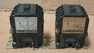 WESTINGHOUSE #BF40F 765A855GO1 LOT OF 2 IND. CONTROL RELAY (300VAC, 10A)  F114