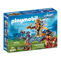 Playmobil Knights Dwarf King With Guards Building Set 9344 NEW Toys
