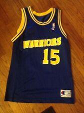 ee23e5c6963 Latrell sprewell Golden State Warriors Champion jersey Sz44-L Vintage nba