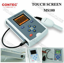CONTEC Cms50qb OLED Finger Spo2 Pulse Oximeter Blood Oxygen Meter Battery Child