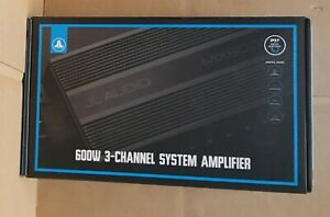 JL Audio MX600/3 Marine Powersports Weather Resistant 600 watt 3 Channel Amp