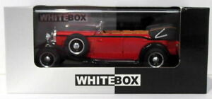 Whitebox Models 1/43 Scale Diecast WB058 -1930 Maybach DS8 Zeppelin - Red
