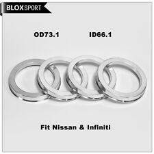 73.1-66.1 High Quality Aluminum Alloy Hub Centric Rings for Nissan S13 Infiniti