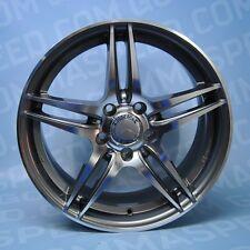 Cerchi in lega da 17 MM037 AD 5x112 ET52.5 Mercedes Classe A B C CLA 245G